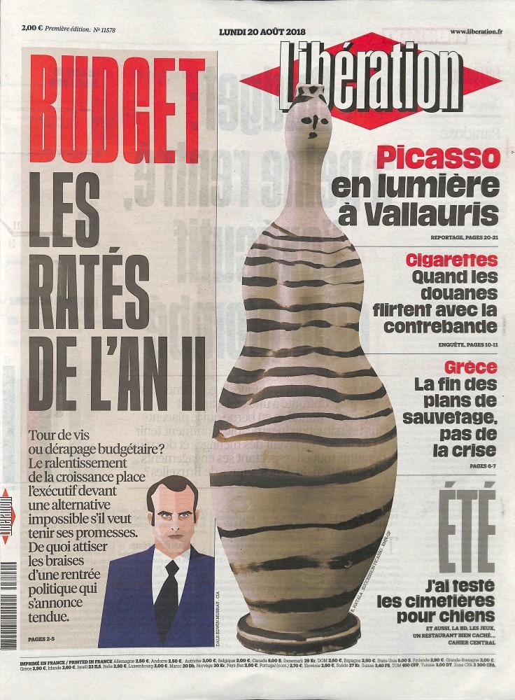 Libération N° 820 August 2018