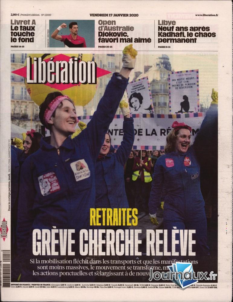 Libération N° 117 Janvier 2020