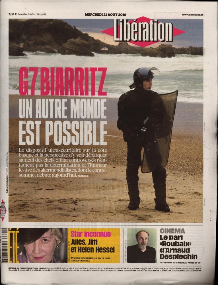 Libération N° 821 Août 2019