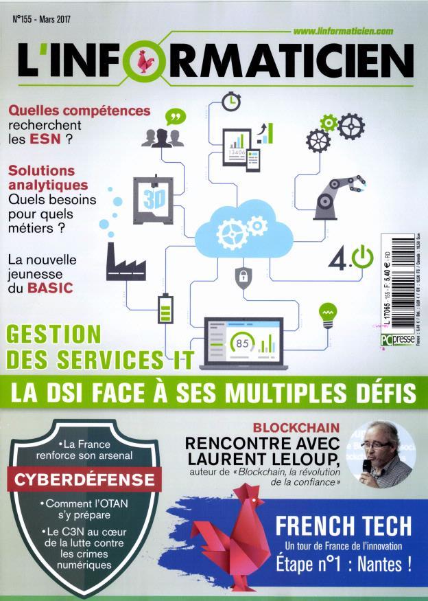 L'informaticien N° 155 Mars 2017