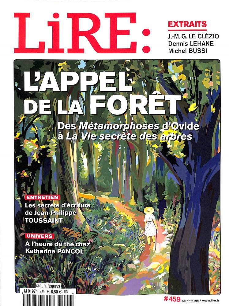 Lire N° 459 Septembre 2017