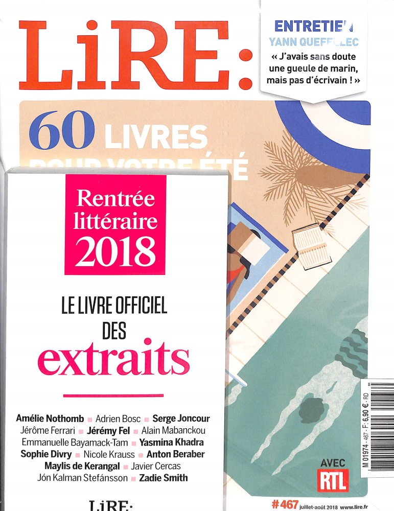 Lire N° 467 June 2018