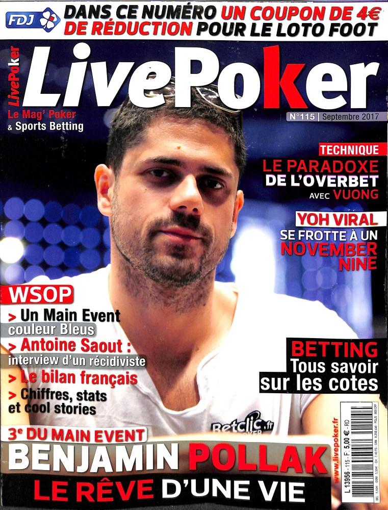 Live Poker N° 137 Septembre 2019