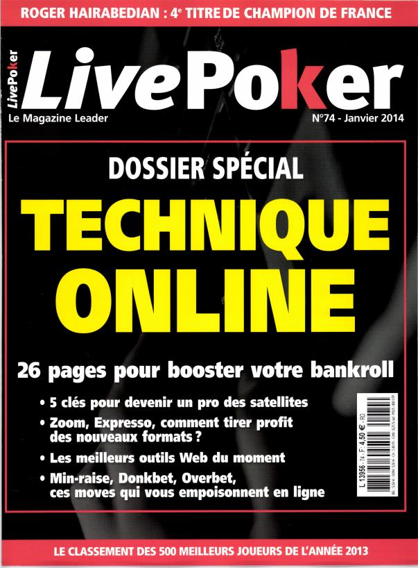 Live Poker N° 142 Janvier 2020