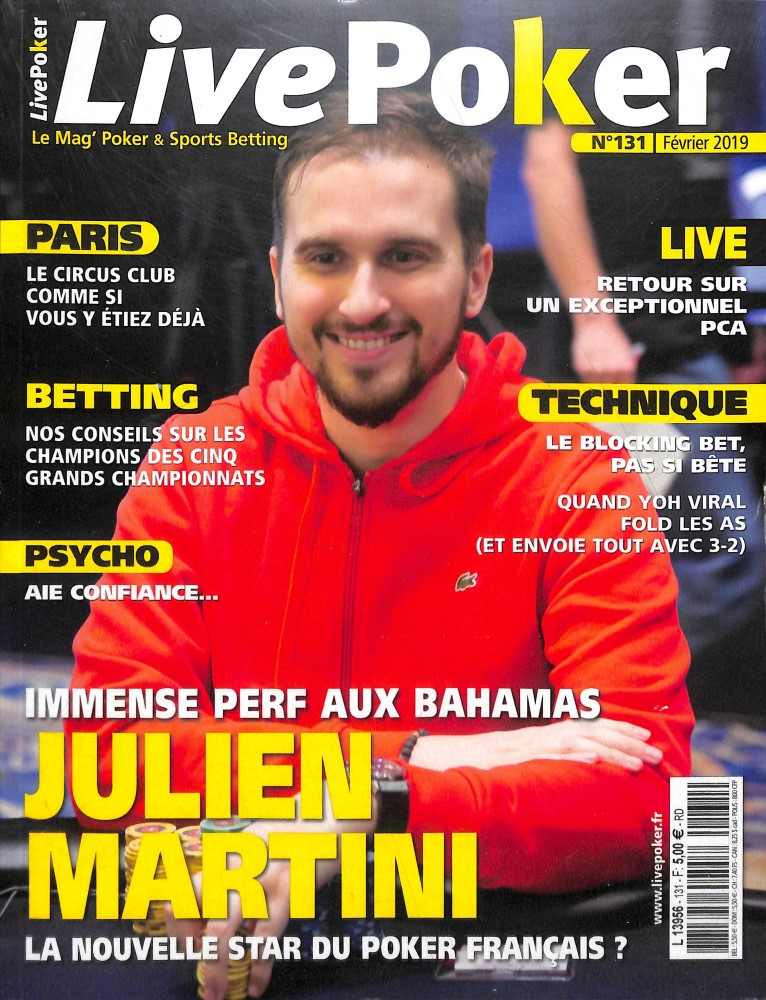Live Poker N° 133 Mars 2019