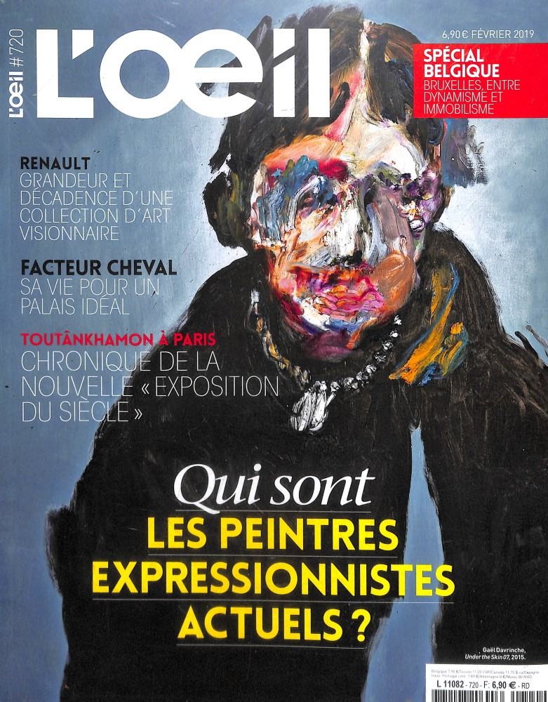 L'OEil N° 720 Janvier 2019