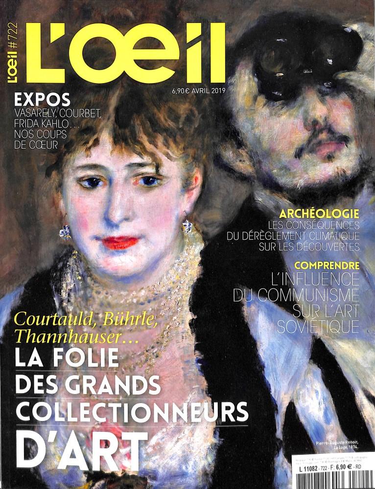 L'OEil N° 722 Mars 2019