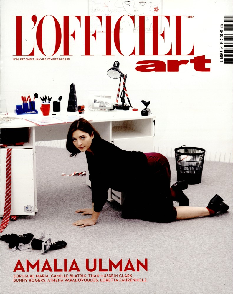 L'officiel Art N° 20 Décembre 2016