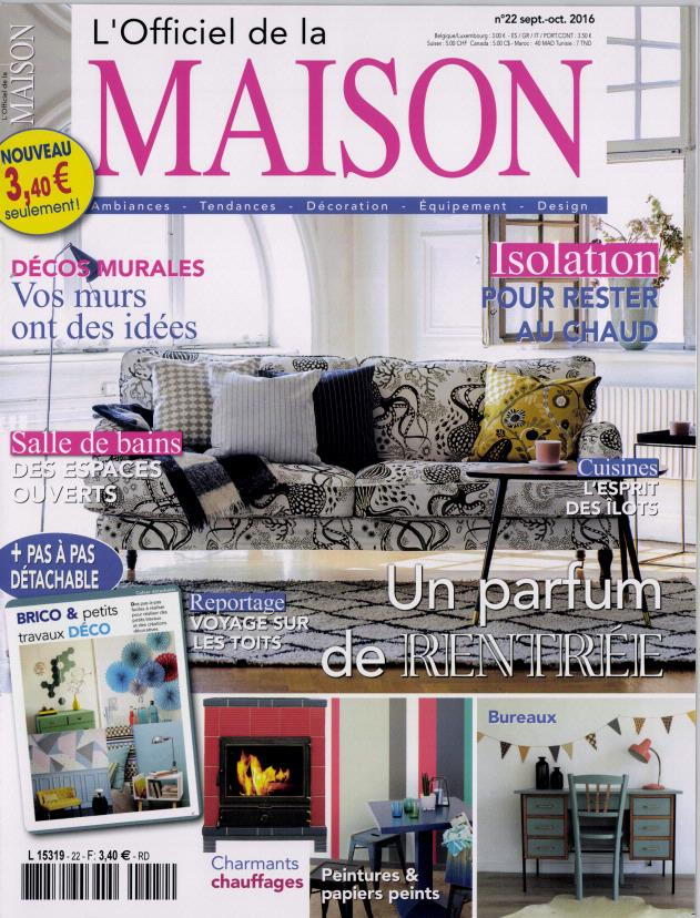Abonnement l 39 officiel de la maison abonnement magazine par - L officiel de la maison ...