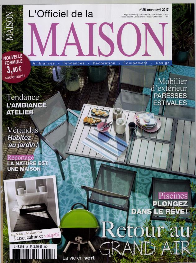 L 39 officiel de la maison n 25 abonnement l 39 officiel de - Abonnement journal de la maison ...