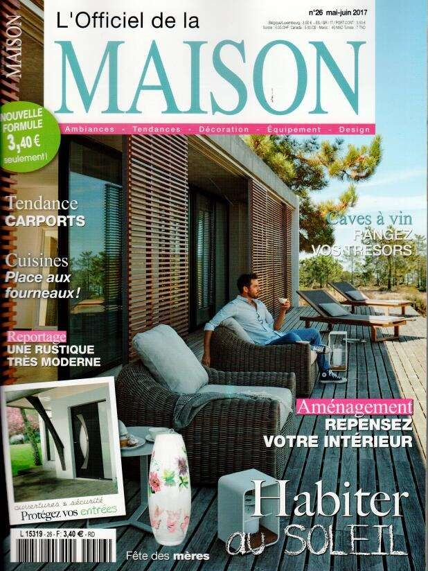 L 39 officiel de la maison n 26 abonnement l 39 officiel de for Magazine de maison