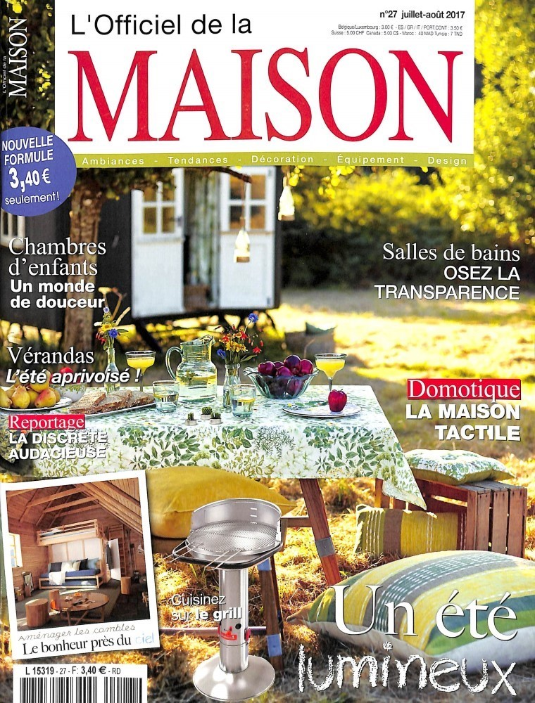 L 39 officiel de la maison n 27 abonnement l 39 officiel de for Maison francaise magazine abonnement