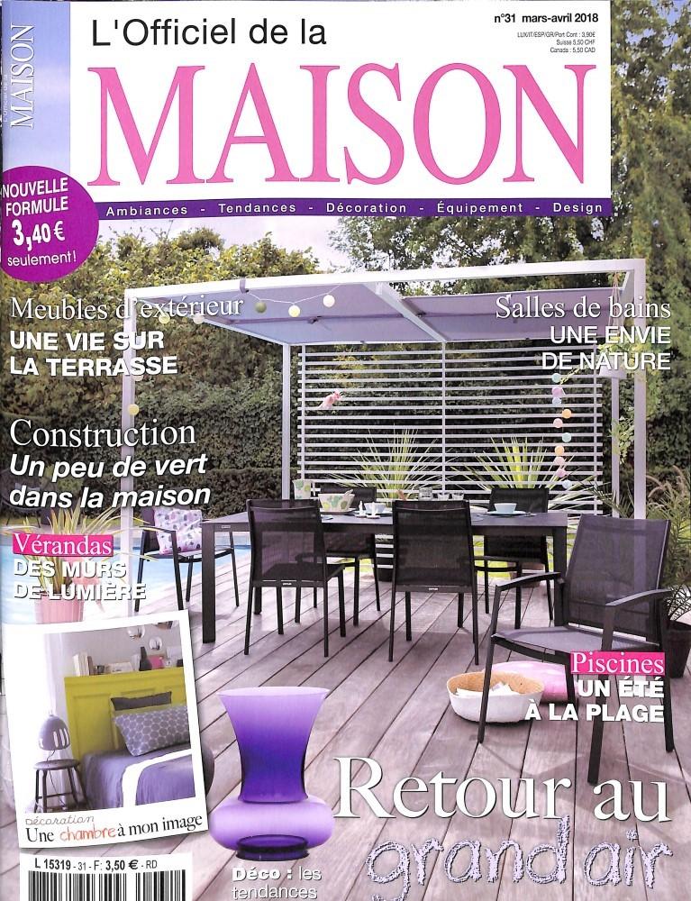 Abonnement l 39 officiel de la maison abonnement magazine for Maison magazine abonnement