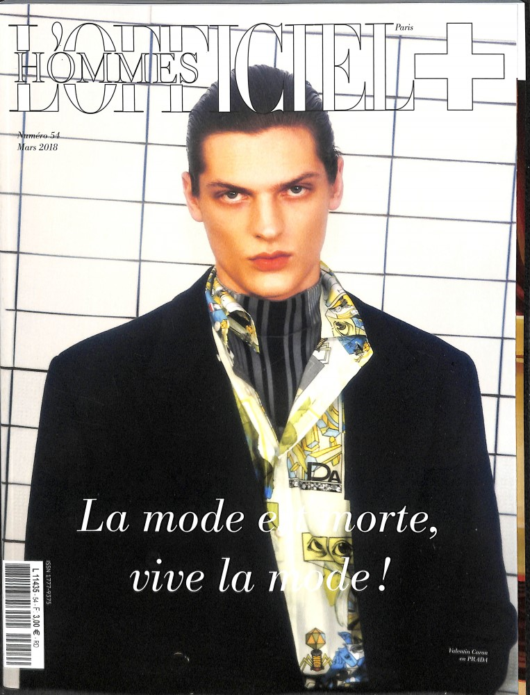 L'Officiel Hommes N° 54 March 2018