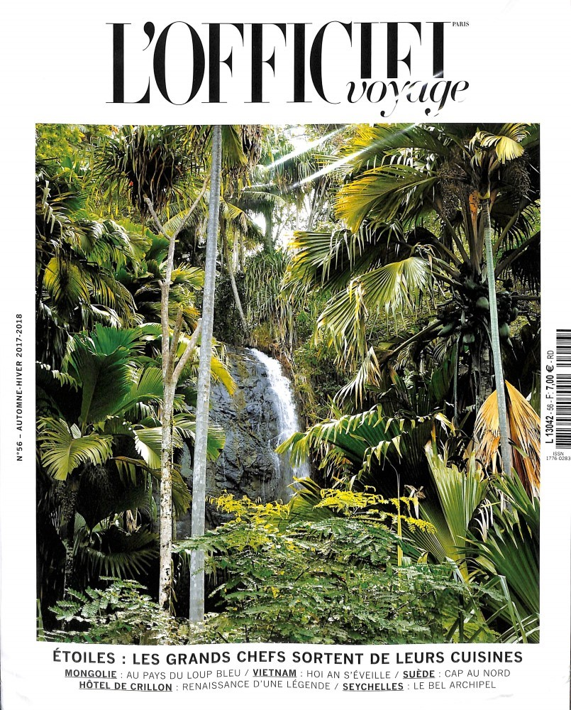 L'Officiel Voyage N° 56 November 2017