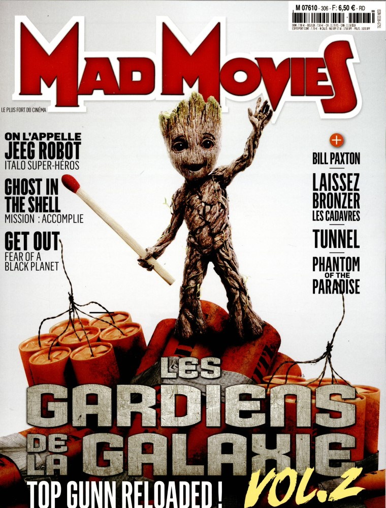 Mad Movies N° 306 Avril 2017