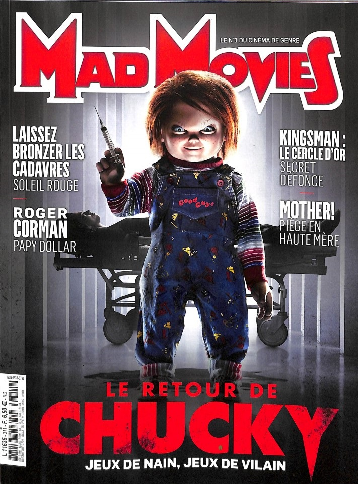 Mad Movies N° 311 Octobre 2017