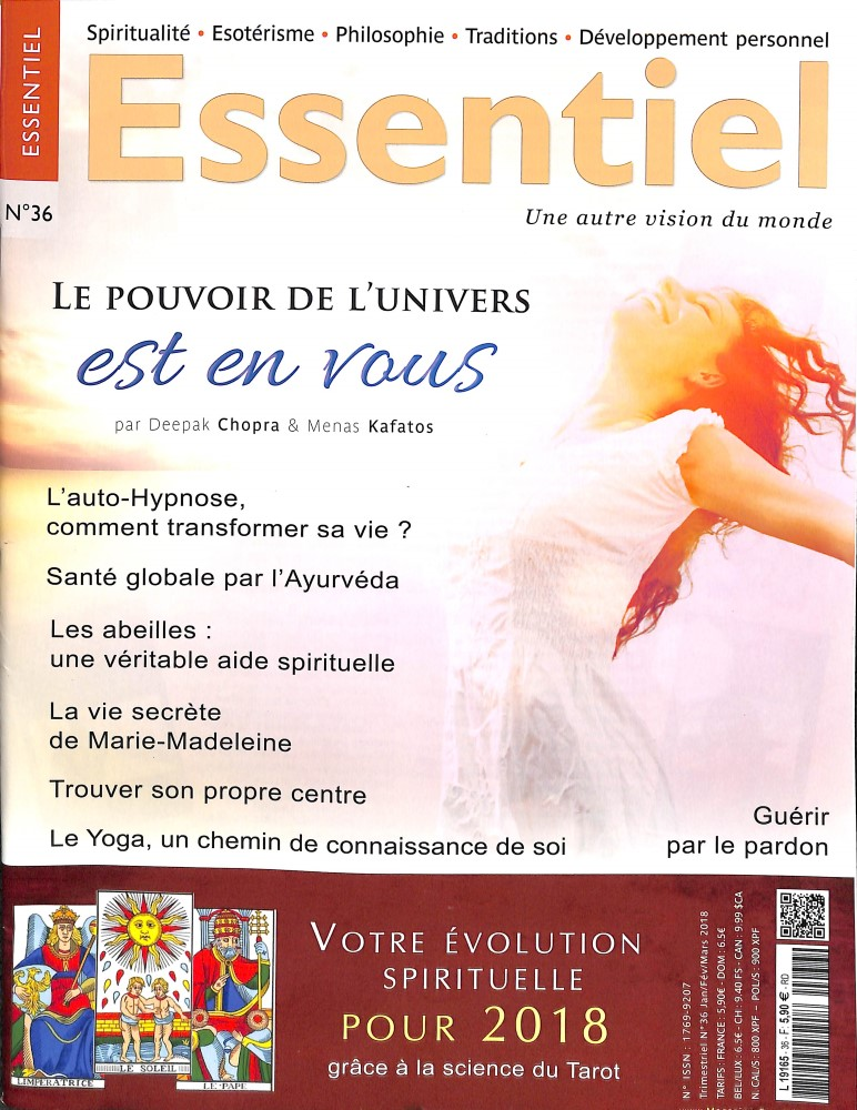 Magazine Essentiel N° 36 January 2018