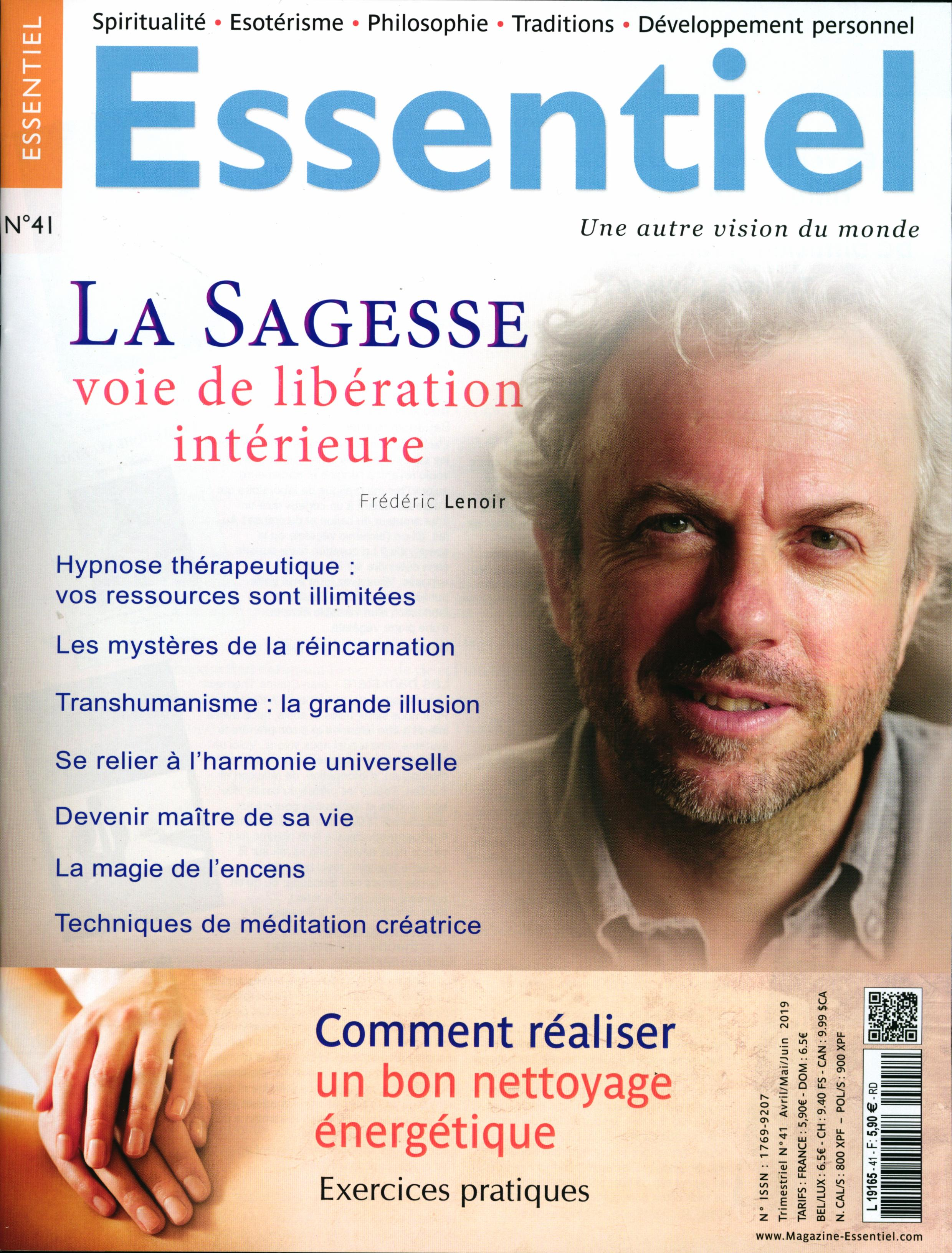 Magazine Essentiel N° 41 Avril 2019