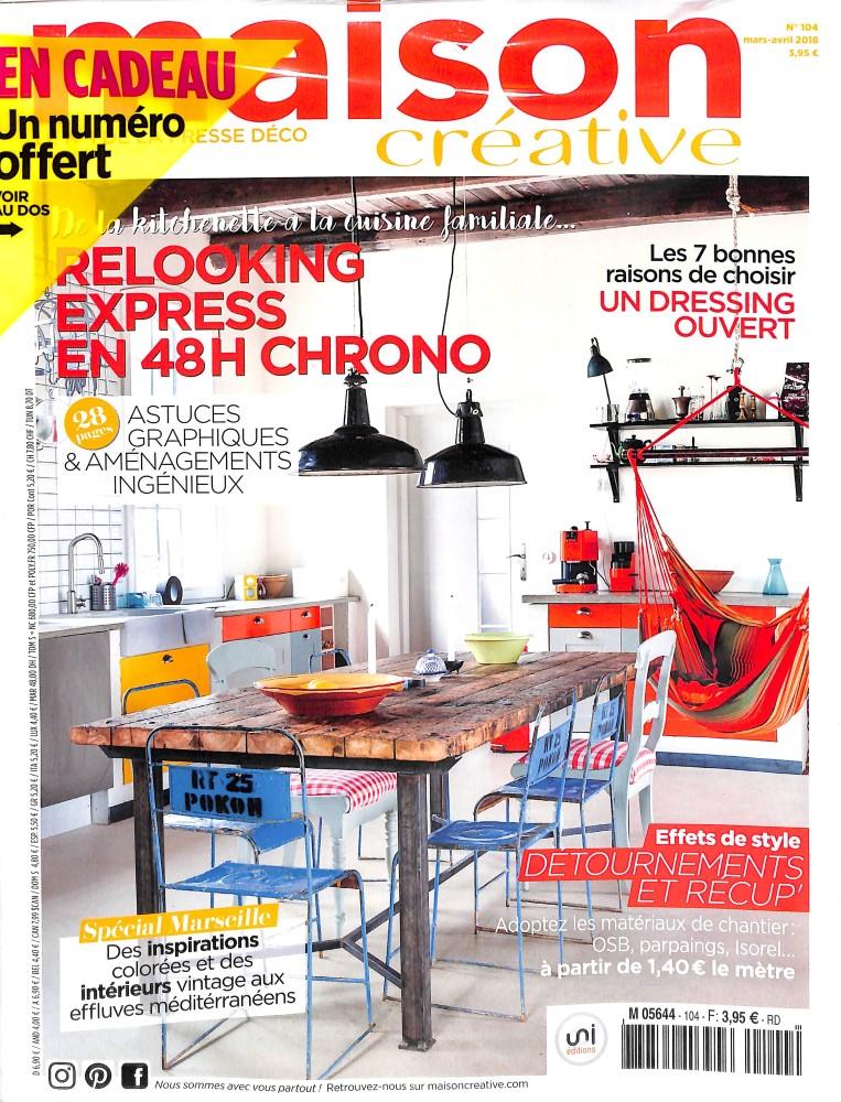 Abonnement maison cr ative abonnement magazine par for Maison magazine abonnement