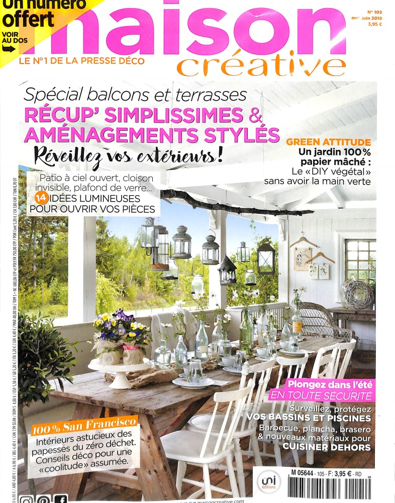 Abonnement maison cr ative abonnement magazine par for Abonnement maison chic magazine