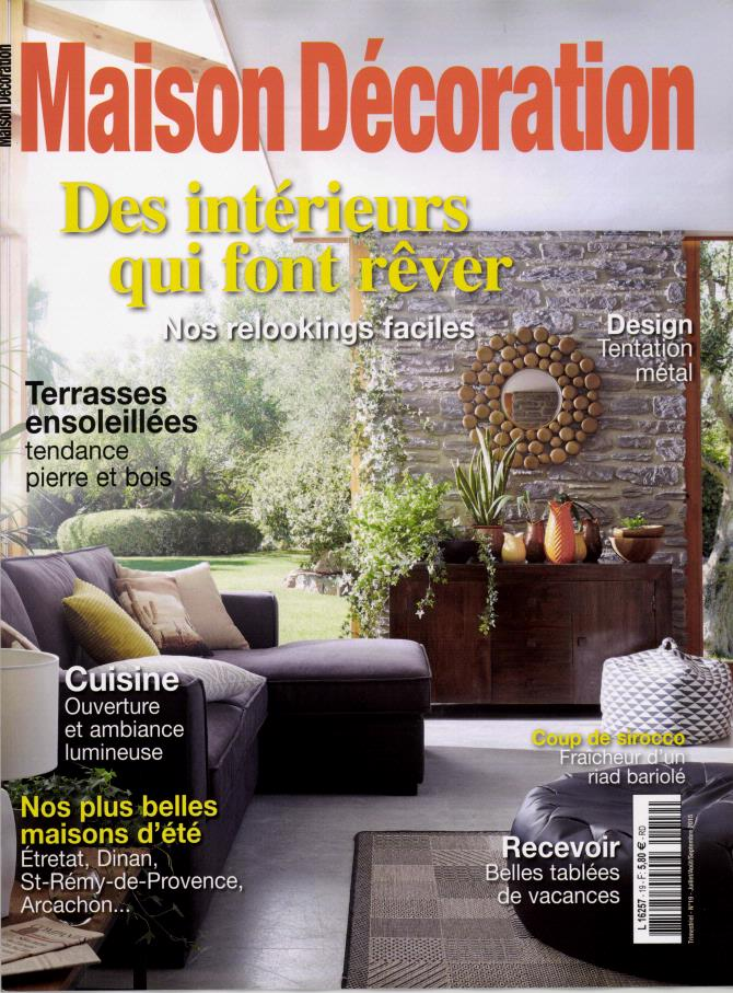 Maison d coration n 19 abonnement maison d coration for Abonnement maison chic magazine