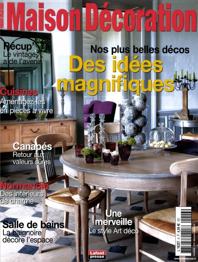 maison d coration n 6 abonnement maison d coration abonnement magazine par. Black Bedroom Furniture Sets. Home Design Ideas