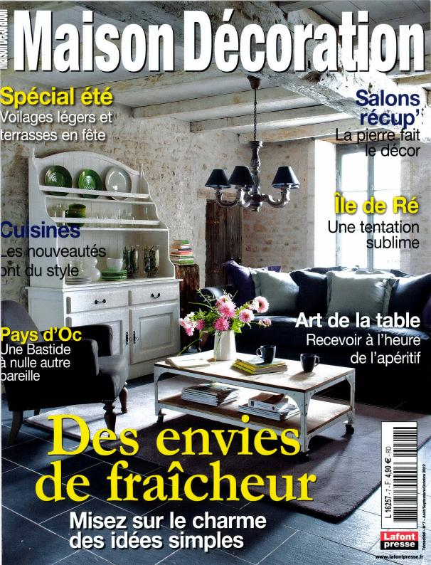Maison d coration n 7 abonnement maison d coration for Maison francaise magazine abonnement