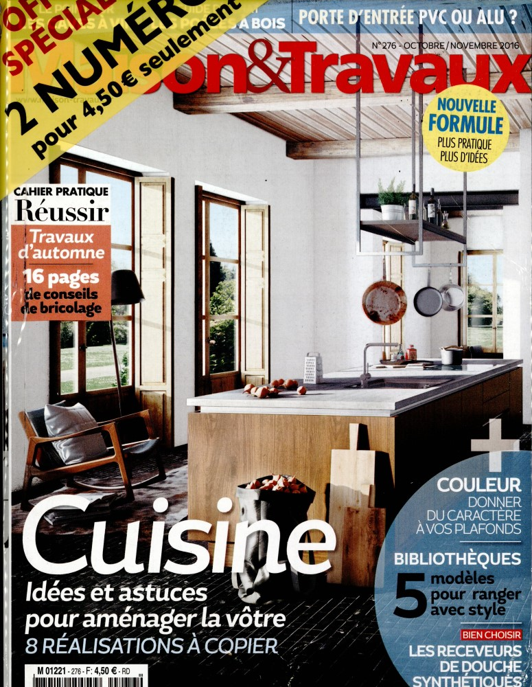 Abonnement maison et travaux abonnement magazine par for Maison travaux decoration