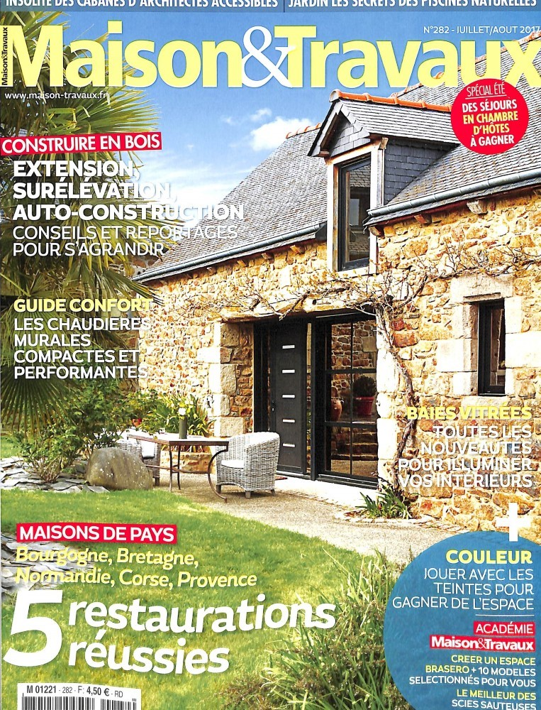 Abonnement maison et travaux intermagazines for Maison travaux decoration