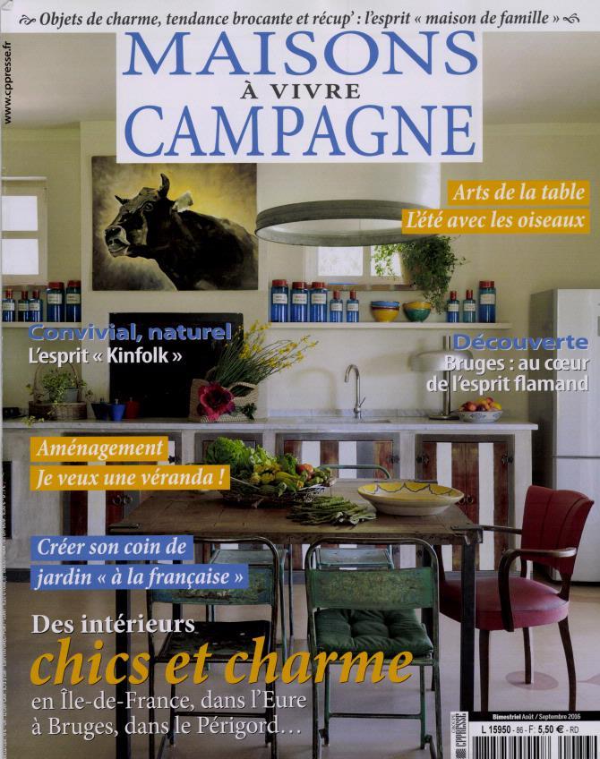 Maisons à Vivre Campagne N° 86 Août 2016
