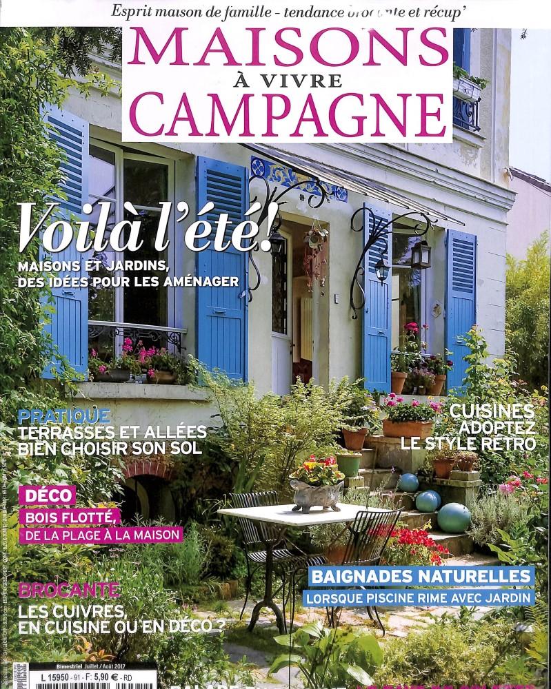 Maisons vivre campagne n 91 abonnement maisons for Maison magazine abonnement