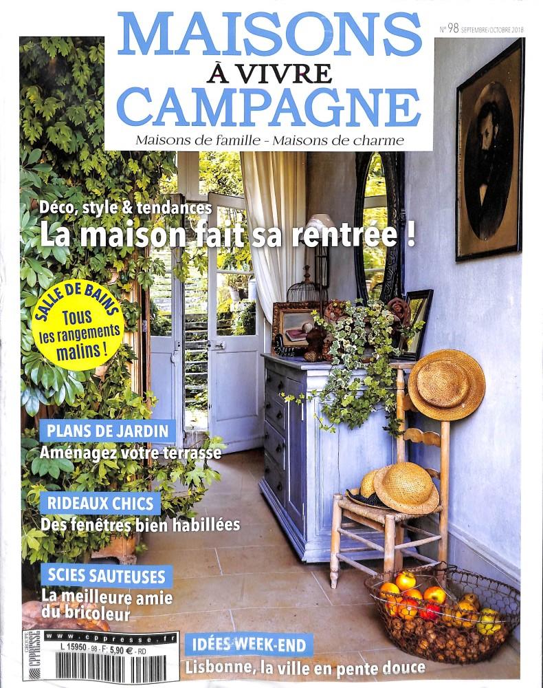 Maison A Vivre Campagne maisons à vivre campagne n° 98 – abonnement maisons à vivre