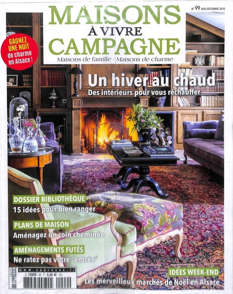 Maison A Vivre Campagne maisons à vivre campagne n° 99 – abonnement maisons à vivre