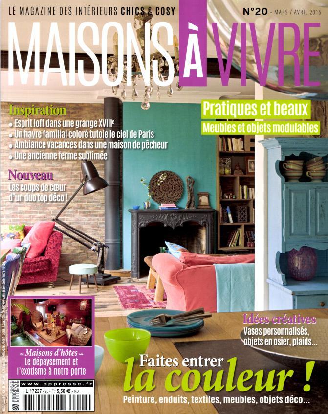 Maisons vivre n 20 abonnement maisons vivre for Maison magazine abonnement