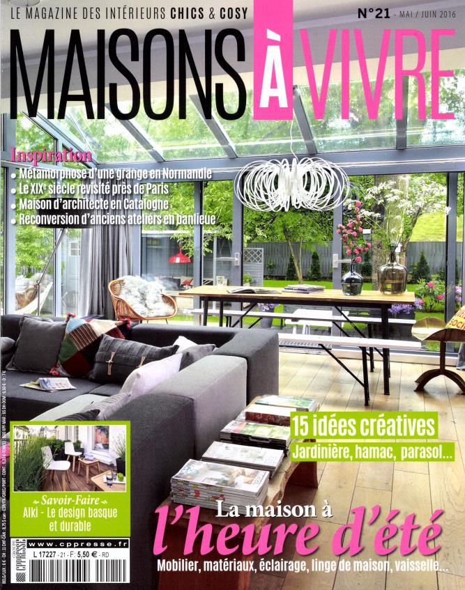 Maisons vivre n 21 abonnement maisons vivre abonnement magazine par - Maison a vivre magazine ...