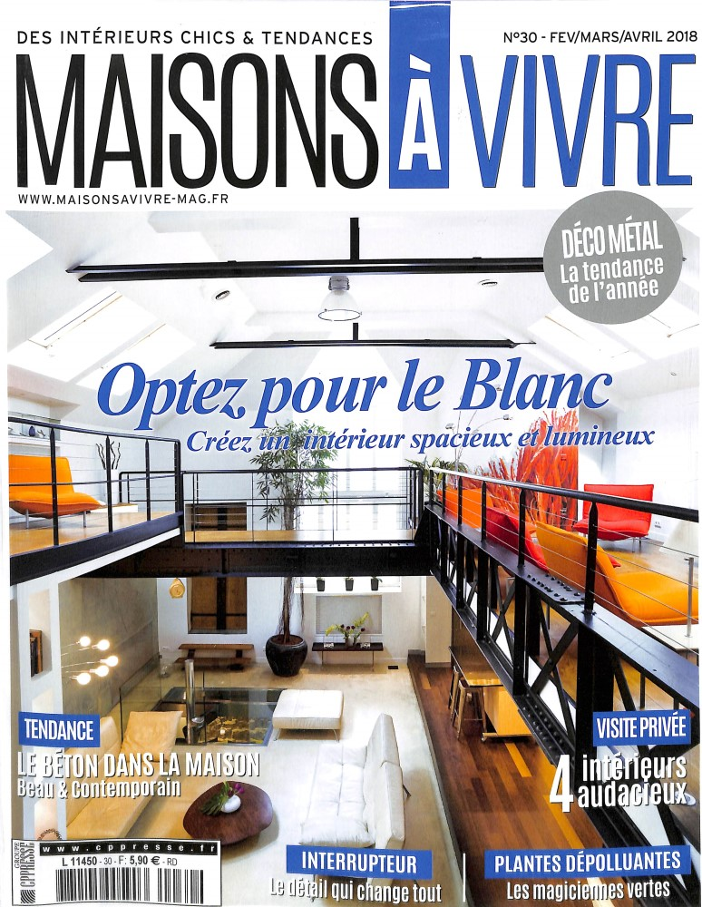 abonnement maisons vivre abonnement magazine par. Black Bedroom Furniture Sets. Home Design Ideas