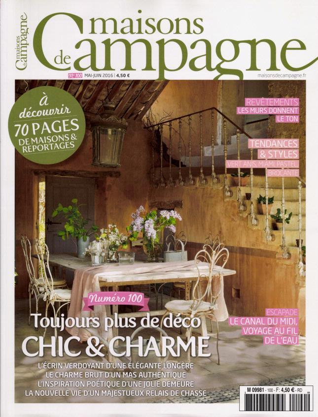 maisons de campagne n 100 abonnement maisons de campagne abonnement magazine par. Black Bedroom Furniture Sets. Home Design Ideas
