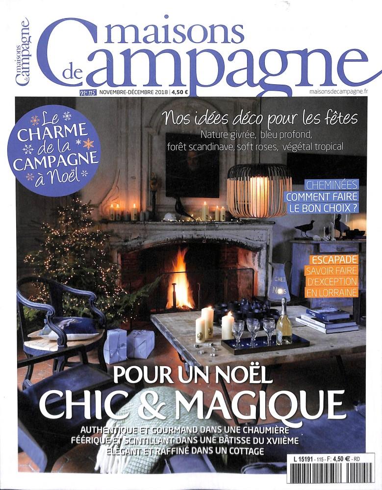 Maisons de campagne N° 115 October 2018