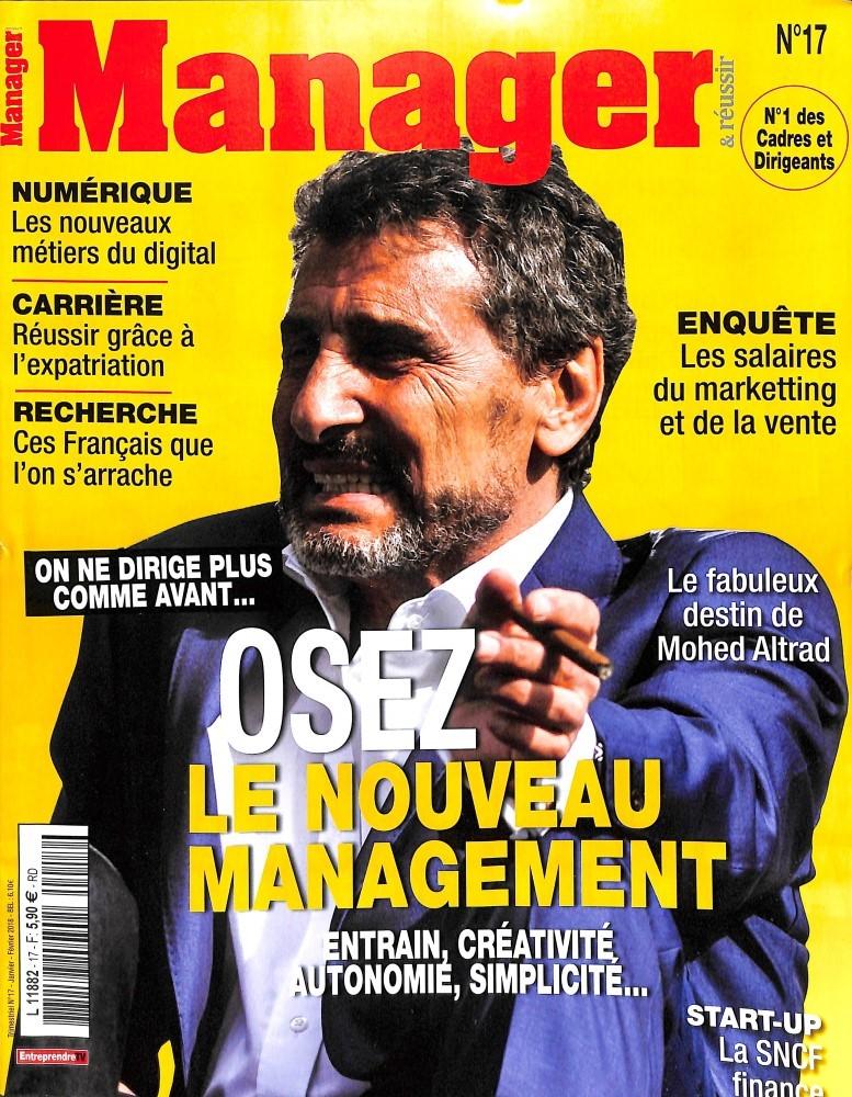 Manager et réussir N° 17 Décembre 2017