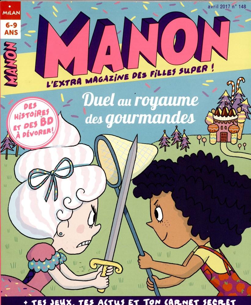 Manon N° 148 Avril 2017