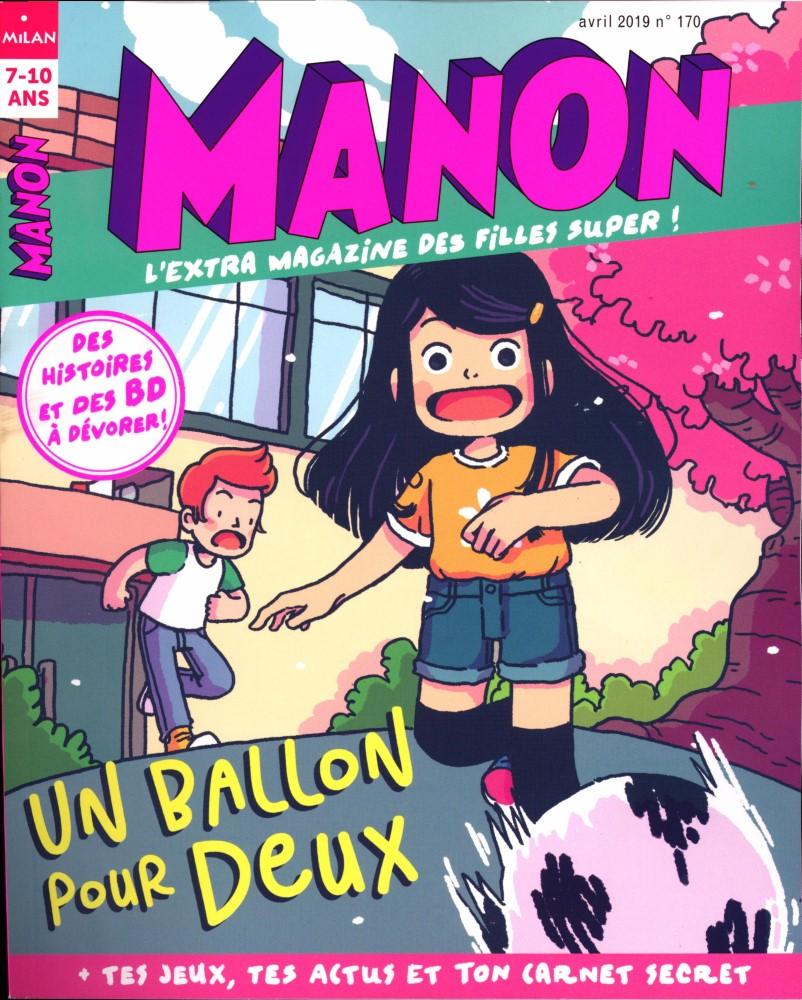 Manon N° 170 Mars 2019