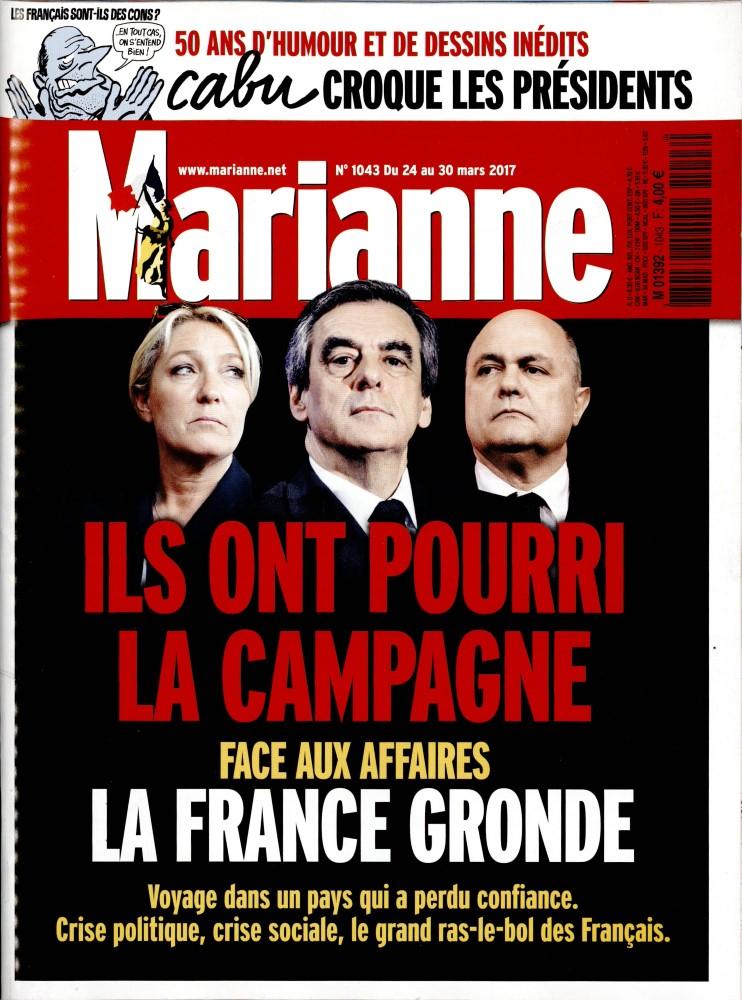 Marianne N° 1043 Mars 2017