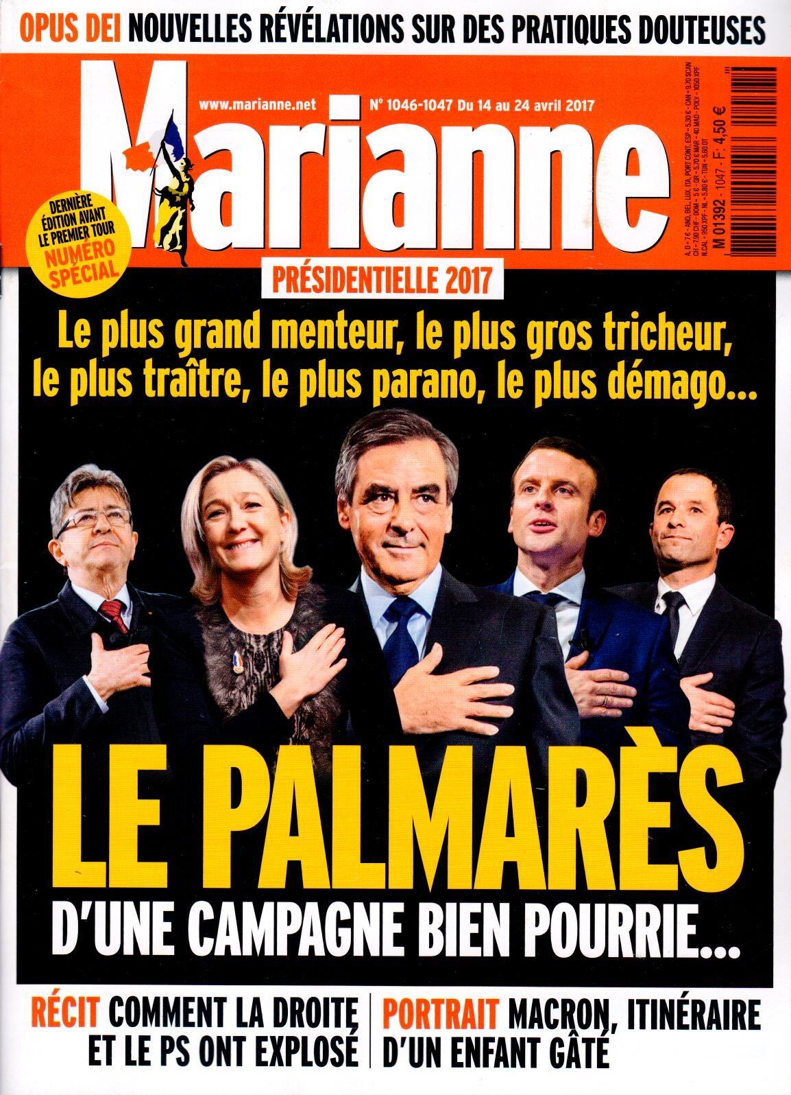 Marianne N° 1047 Avril 2017
