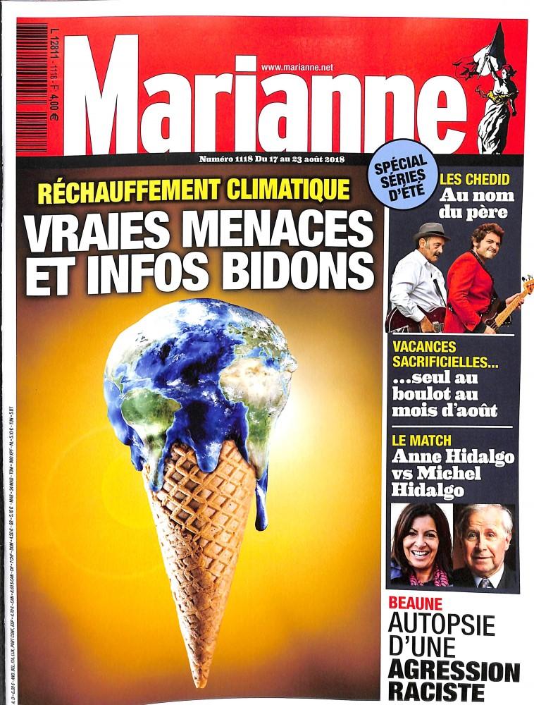 Marianne N° 1118 August 2018