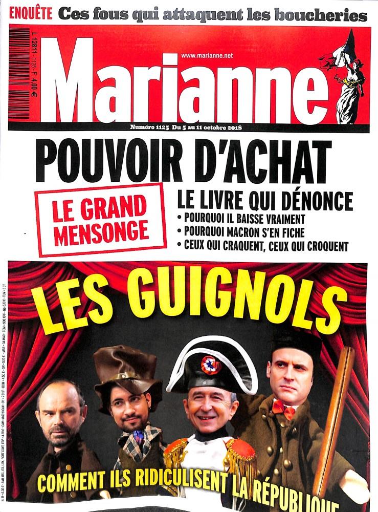 Marianne N° 1192 Janvier 2020