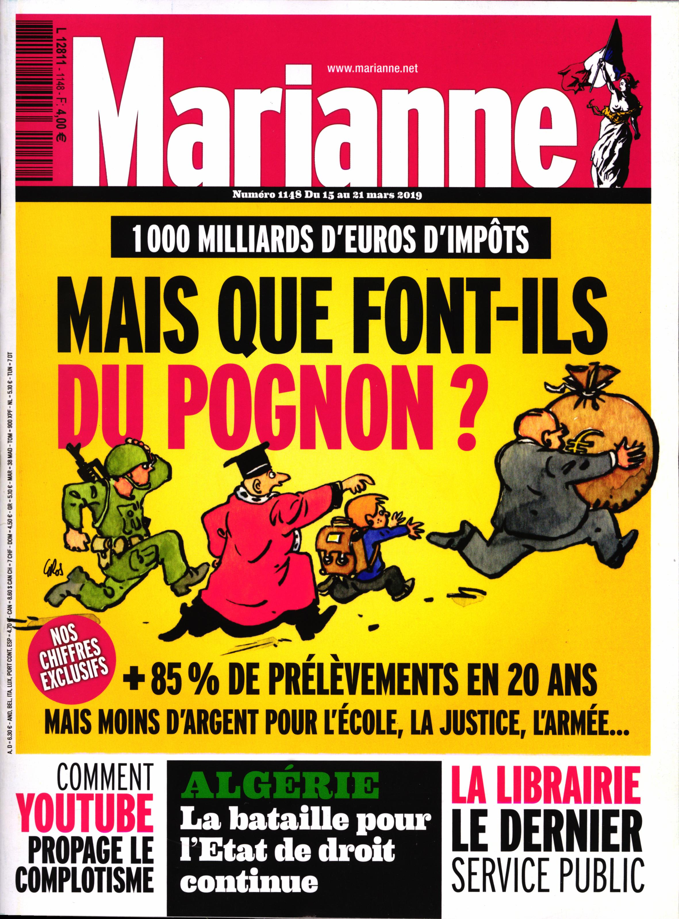 Marianne N° 1170 Août 2019