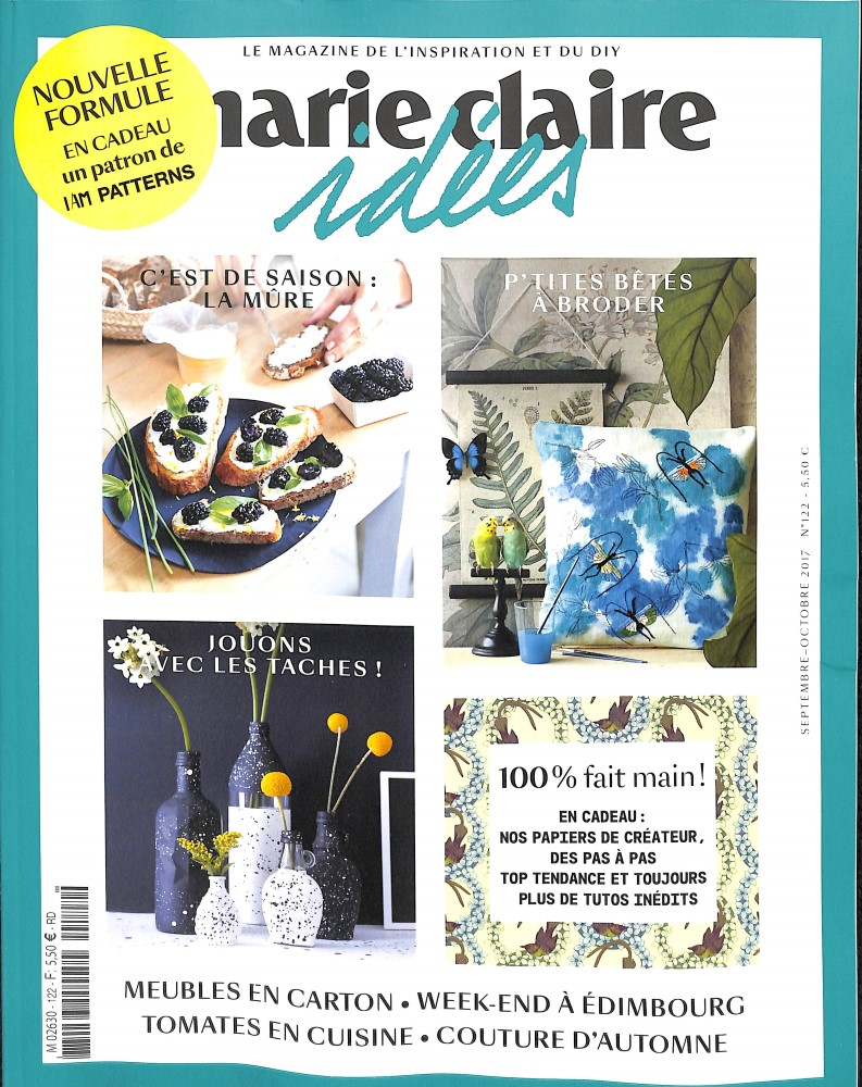 Marie Claire Idées N° 122 Août 2017