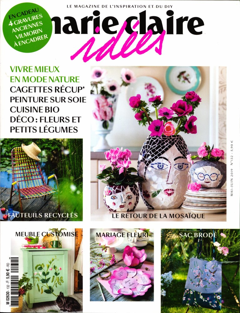 Marie Claire Idées N° 132 Avril 2019