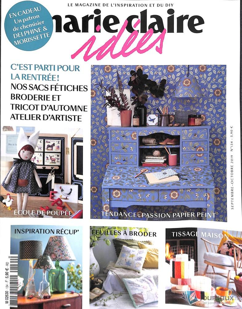 Marie Claire Idées N° 134 Août 2019